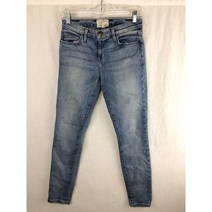 CURRENT/ELLIOT Blue Mid-Rise Jeans Sz 26